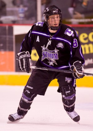 Jaden Schwartz will join his brother, Rylan, at Colorado College in the fall (photo: USHL Images).