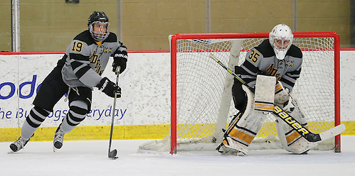 Kevin Entmaa of Adrian (Mike Dickie/Adrian Athletics)