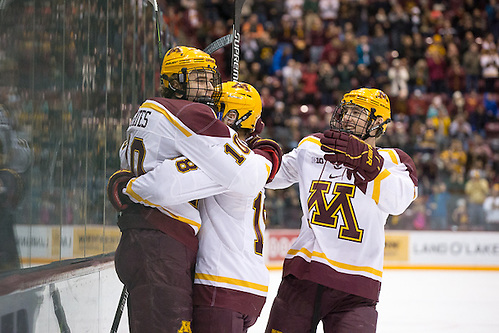 30 Dec 16:  Brent Gates Jr. (Minnesota - 10). The University of Minnesota Golden Gophers host  the Mercyhurst University Lakers in a semi-final matchup at the 2016 Mariucci Classic at Mariucci Arena in Minneapolis, MN. (Jim Rosvold)