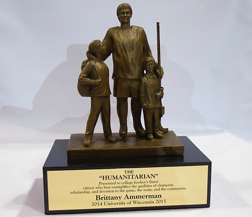 A new version of the Humanitarian Award debuted in 2015. (Jim Rosvold)