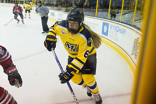 Paige Voight against St. Cloud State on Oct. 2, 2015 (Mike Gridley/Photo: Mike Gridley)