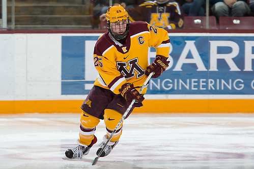 31 Dec 16:  Justin Kloos (Minnesota - 25). The University of Minnesota Golden Gophers host the University of Massachusetts Minutemen in the championship game of the 2016 Mariucci Classic at Mariucci Arena in Minneapolis, MN. (Jim Rosvold)