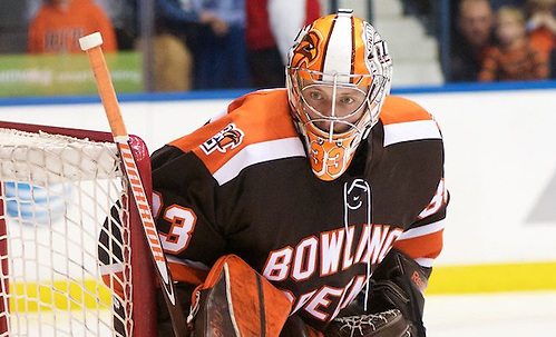 Chris Nell - (33 - Bowling Green) had 33 saves in a 2-2 tie at RIT (Omar Phillips)