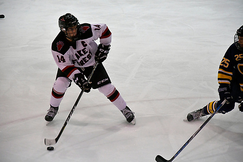 Shawn Nelson of Lake Forest (Photo by Matt Demirs)