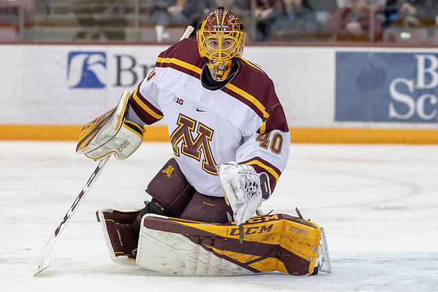 4 Jan 19: The University of Minnesota Golden Gophers host the Penn State University Nittany Lions in B1G matchup at 3M at Mariucci Arena in Minneapolis, MN (Jim Rosvold)