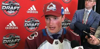 Massachusetts recruit Cale Makar was the fourth overall pick in the 2017 NHL Draft, going to Colorado. (College Hockey Inc.)