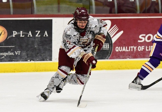 Norwich's Conway earns third consecutive NEHC women's hockey Player of the Year honor