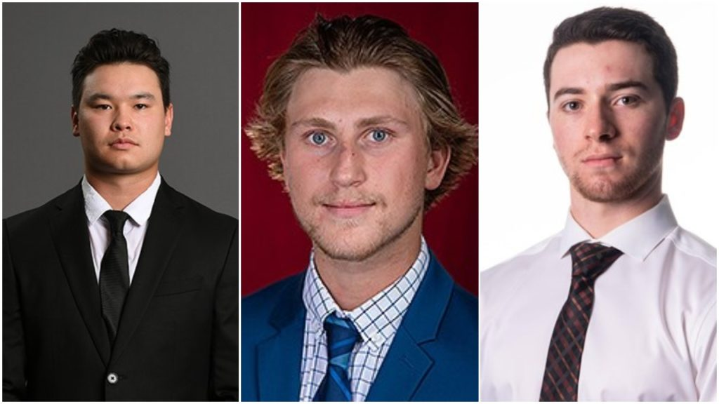 Kawaguchi, Perunovich, Swayman named Hobey Hat Trick finalists, winner to be announced April 11 during 11 p.m. SportsCenter